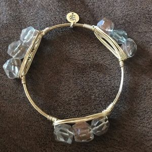 Bourbon and boweties bangle bracelet